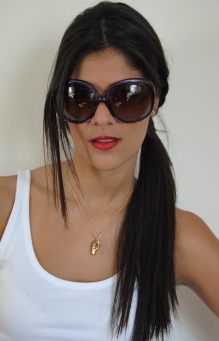 Meu Look  Óculos coloridos   BetaPinheiro.com 2922a26686